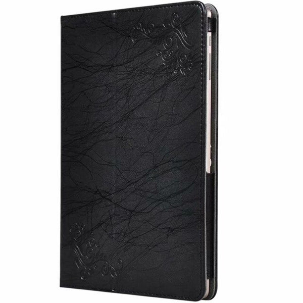 Leather Shockproof Back Stand Bifold Magnetic Flip Tablet Cover