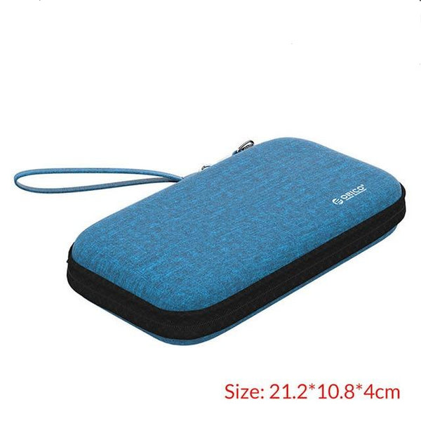 Plush External Storage Power Bank Hard Disk Bag