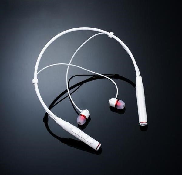 Wireless Bluetooth 4.1 Stereo Music Neckband Earphone With Mic