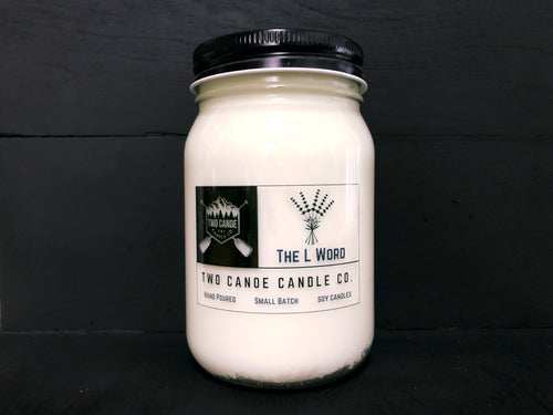 The L Word 16 oz Jar Candle