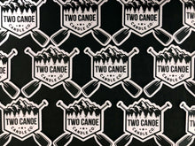Two Canoe Vinyl Sticker