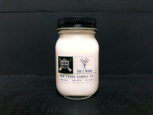 The L Word 1.5oz Mini Jar Candle