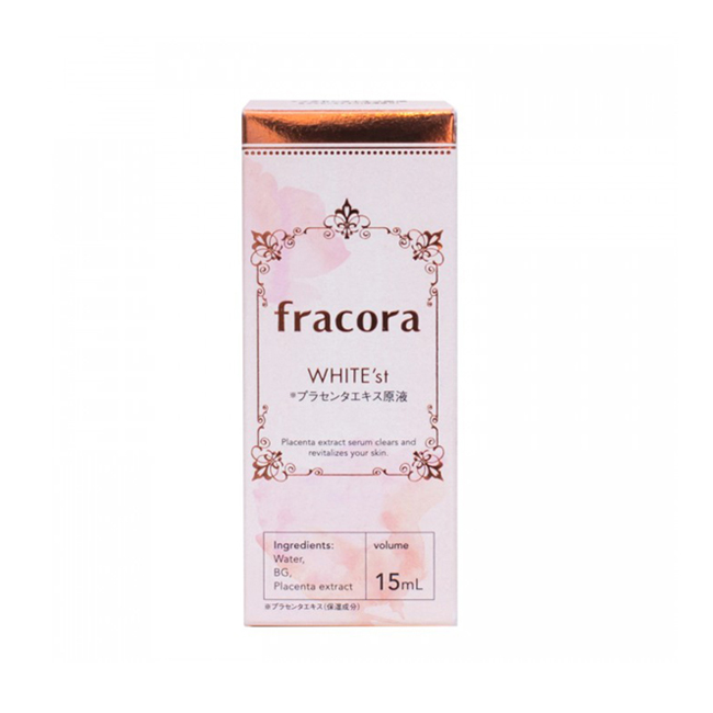 Fracora WHITE'st Placenta Extract - TokTok Beauty