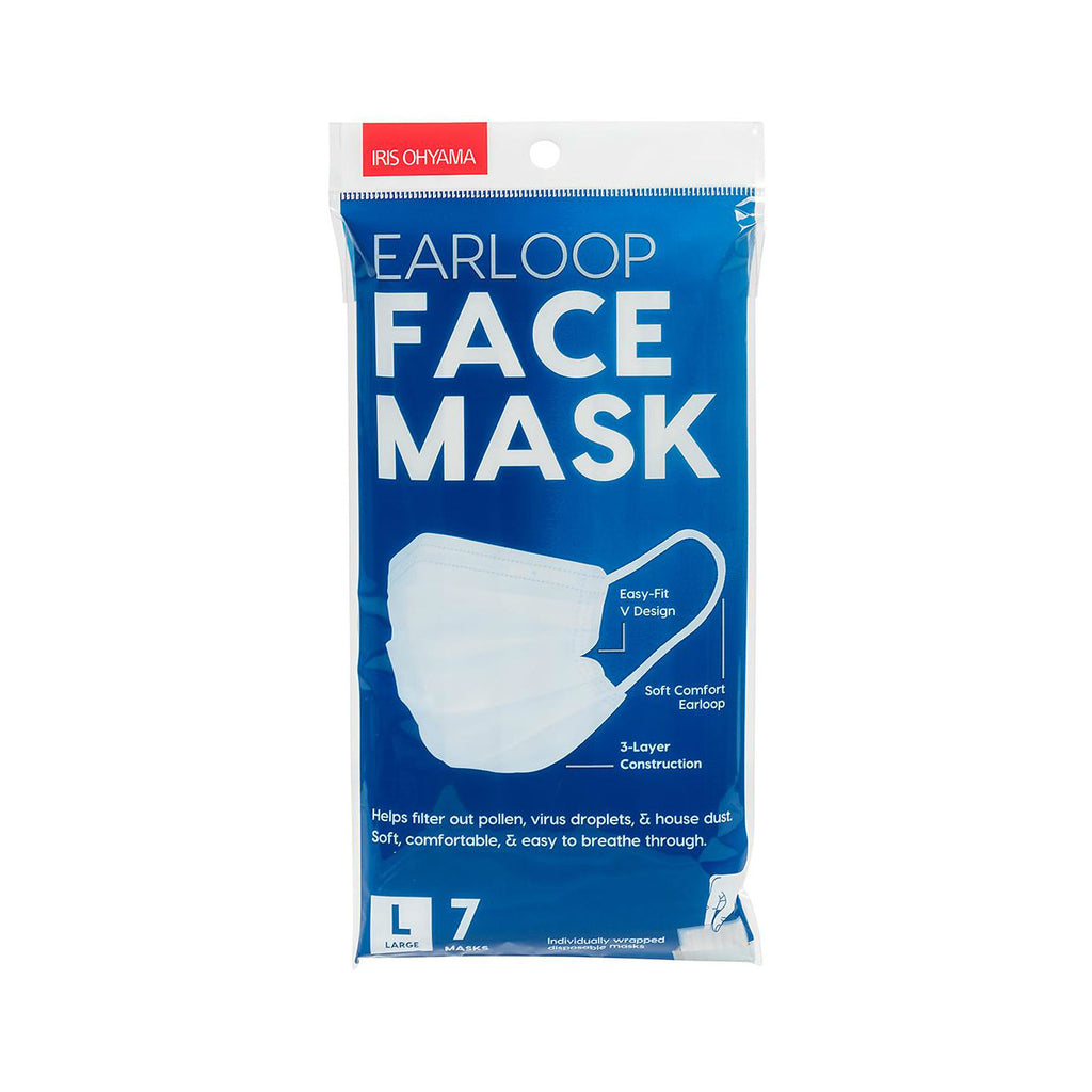 IRIS Earloop Face Mask (Individual Packaging Inside) - TokTok Beauty