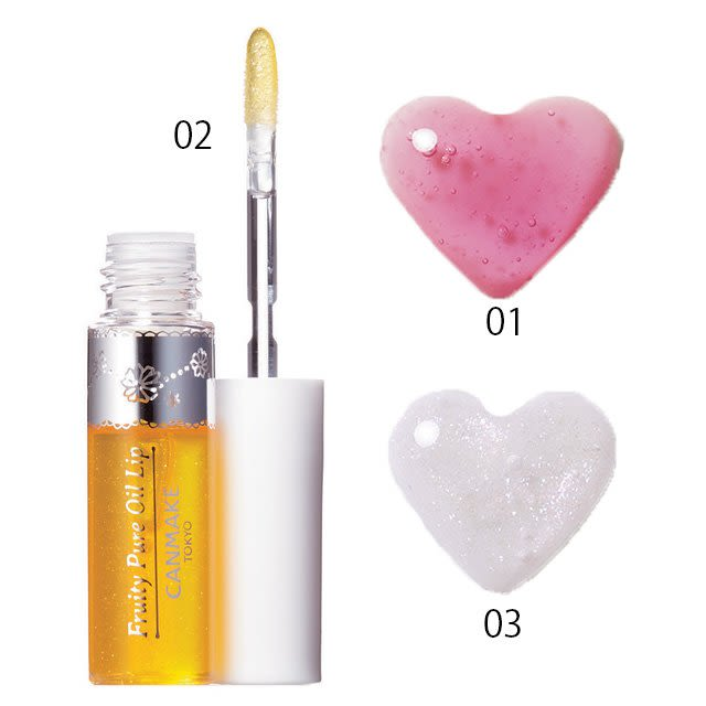 CANMAKE Fruity Pure Oil Lip - TokTok Beauty