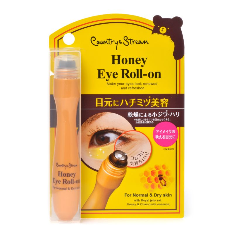 IDA LABORATORIES Country & Stream Honey Eye Roll-on Essence - TokTok Beauty