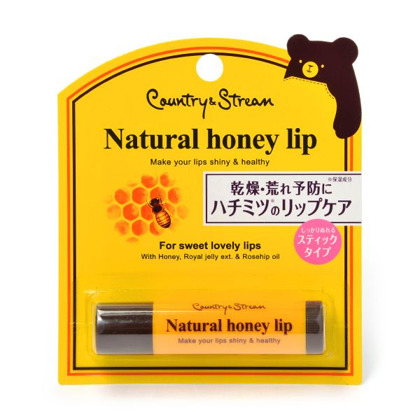 IDA LABORATORIES Country & Stream Honey Lip Balm - TokTok Beauty