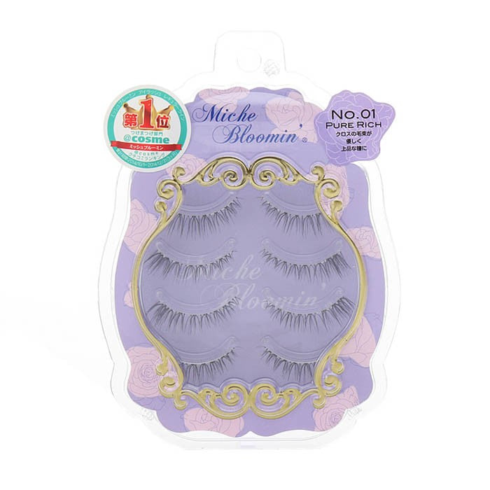 False Eyelashes No.1 Pure Rich - TokTok Beauty
