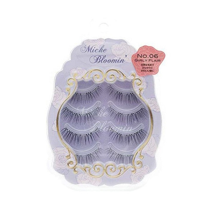 False Eyelashes No.6 Girl Flair - TokTok Beauty