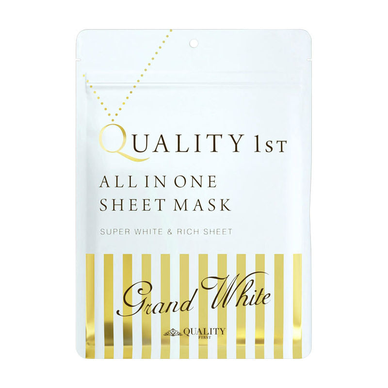 QUALITY FIRST All in One Sheet Mask Whitening - TokTok Beauty
