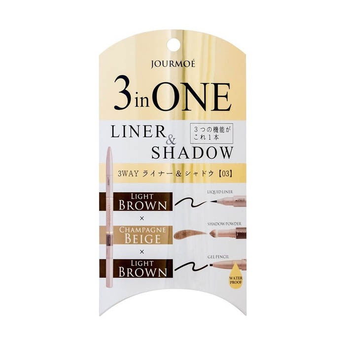 3 in One Liner & Shadow 03 Champaign - TokTok Beauty