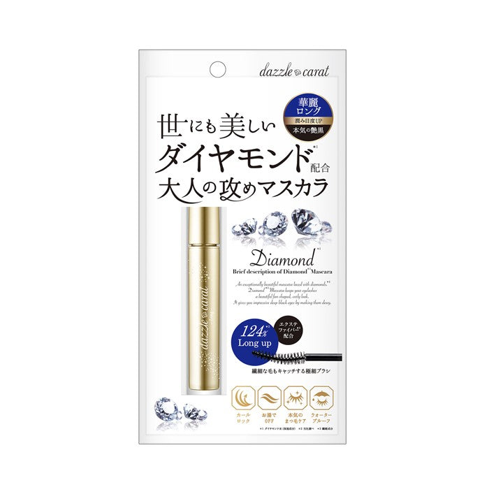 Diamonds Mascara - Long Black - TokTok Beauty