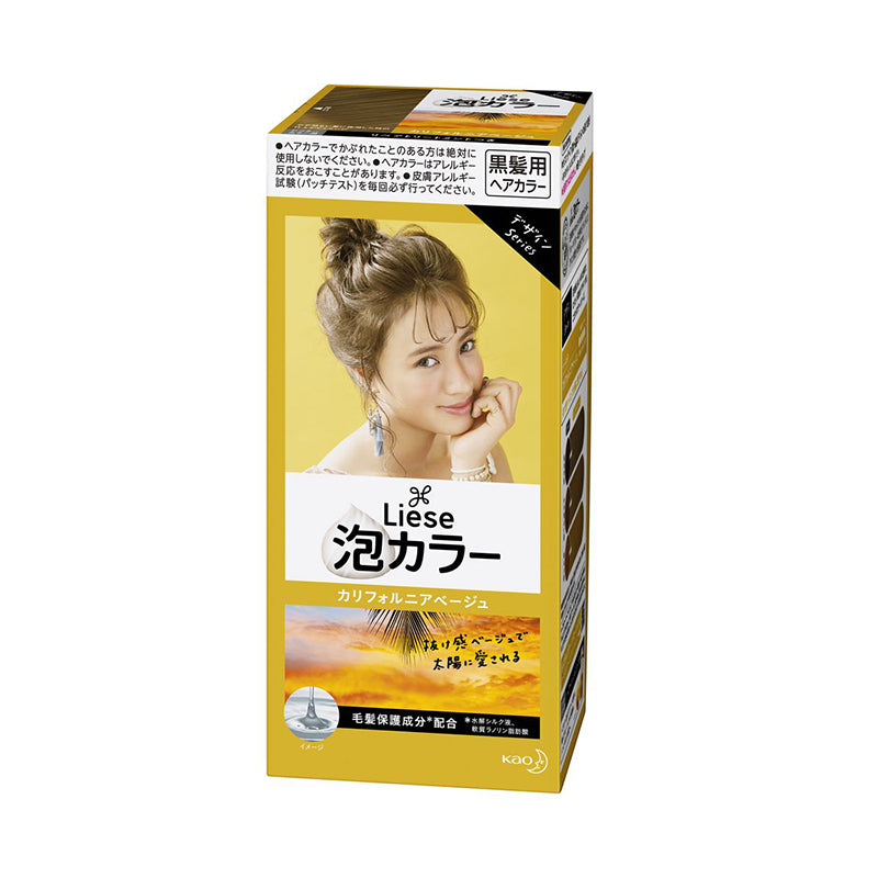 Kao Liese Creamy Bubble Hair Color - TokTok Beauty