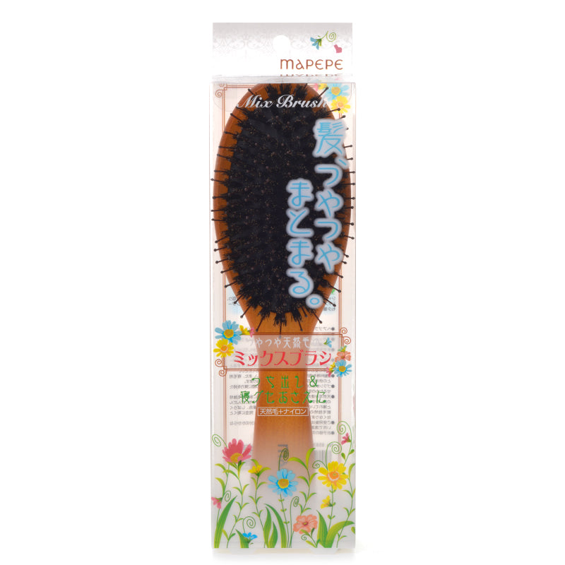 MAPEPE Shiny Natural Hair Mix Brush - TokTok Beauty
