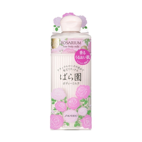Shiseido Rose Body Milk - TokTok Beauty