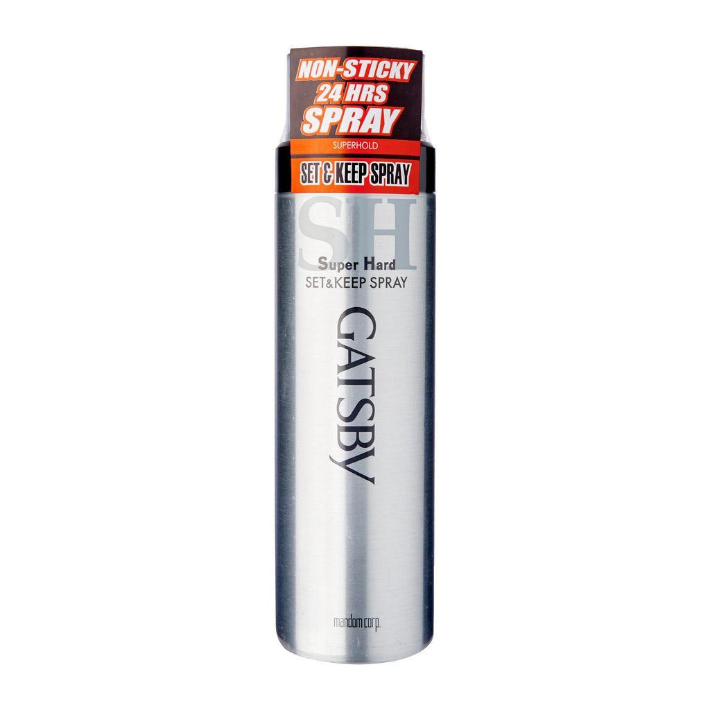 GATSBY Super Hard Set & Keep Hair Spray - TokTok Beauty