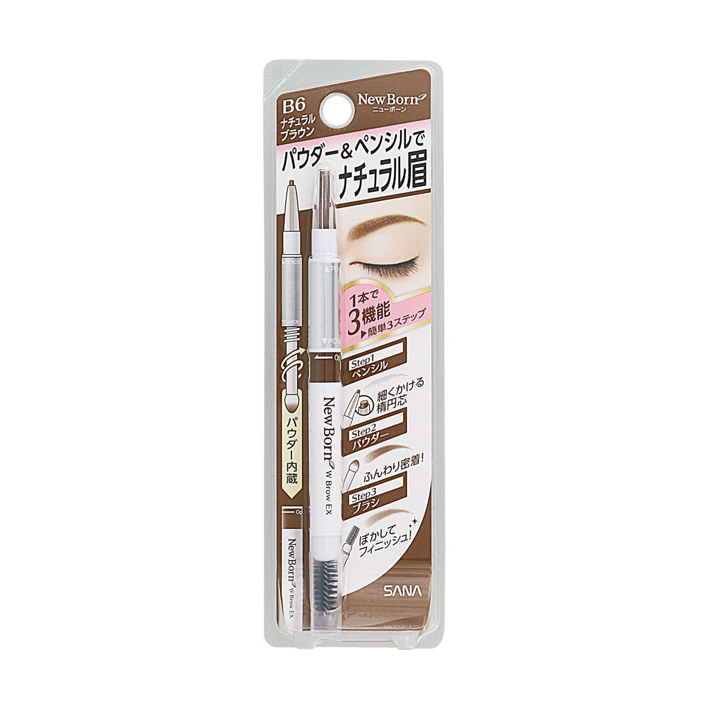 SANA NEWBORN EX Eyebrow Mascara And Pencil - TokTok Beauty
