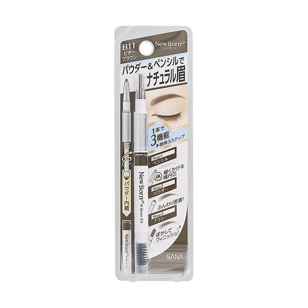 NEWBORN EX Eyebrow Mascara And Pencil - TokTok Beauty