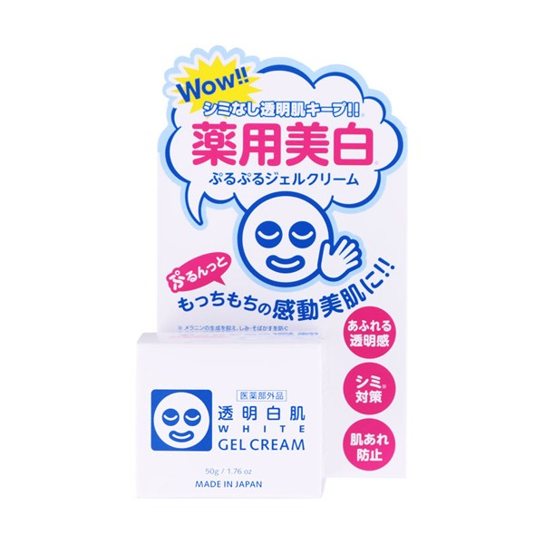 Ishizawa Lab Toumei Shirohada Whitenting Gel Cream - TokTok Beauty