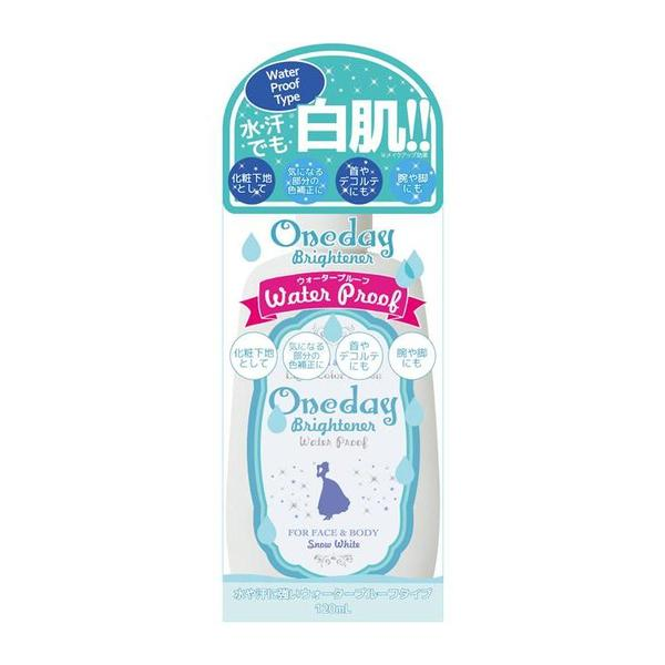 SNOW WHITE Oneday Brightener Whitening Cream - Waterproof - TokTok Beauty