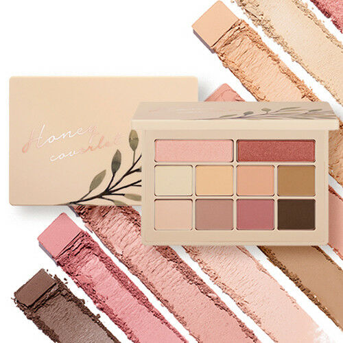 Honey Coverlet Eyeshadow Palette - TokTok Beauty