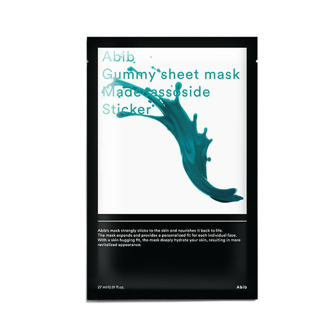 Gummy Sheet Mask - 1 Box of 10 Sheets - TokTok Beauty