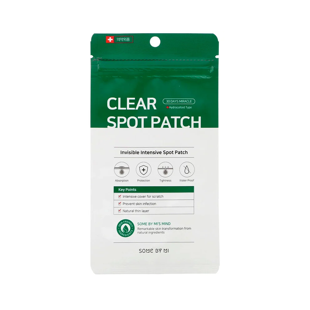 30 Days Miracle Clear Spot Patch - TokTok Beauty