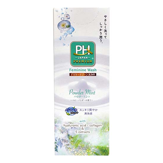 pHcare Feminine Wash - Powder Mint - TokTok Beauty