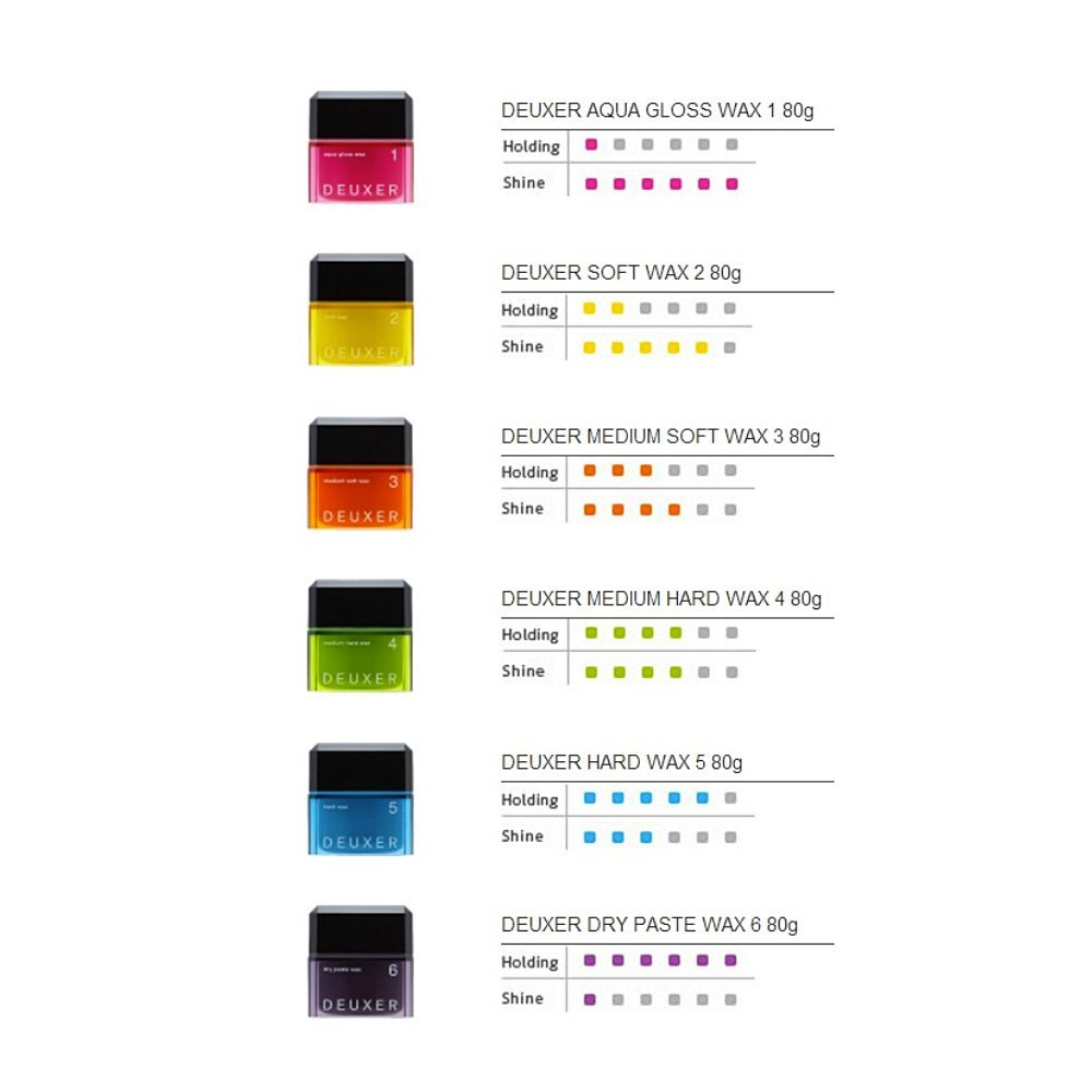 Hair Wax - 9 Types - TokTok Beauty
