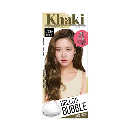 Mise En Scene Hello Bubble Hair Color - 7K Ash Brown - TokTok Beauty