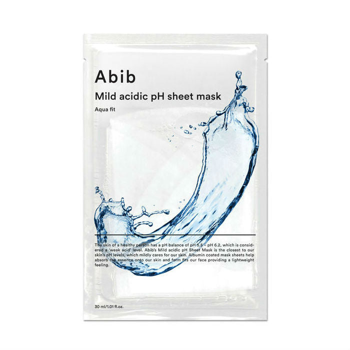Abib Mild Acidic pH Sheet Mask - 1 Box of 10 Sheets - TokTok Beauty