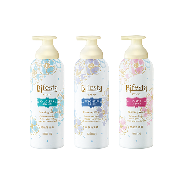 Mandom Bifesta Carbonated Foaming Whip Face Wash - TokTok Beauty