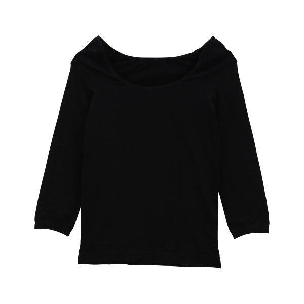 Undershirt 8/10 Sleeve Black 140D - 2 Size - TokTok Beauty