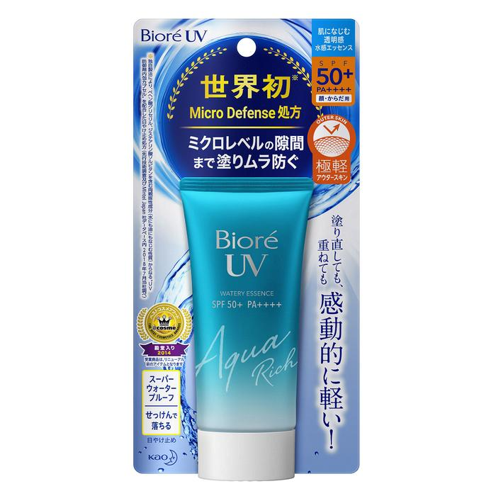 Kao Biore UV Aqua Rich Watery Essence SPF50+ PA++++ - TokTok Beauty