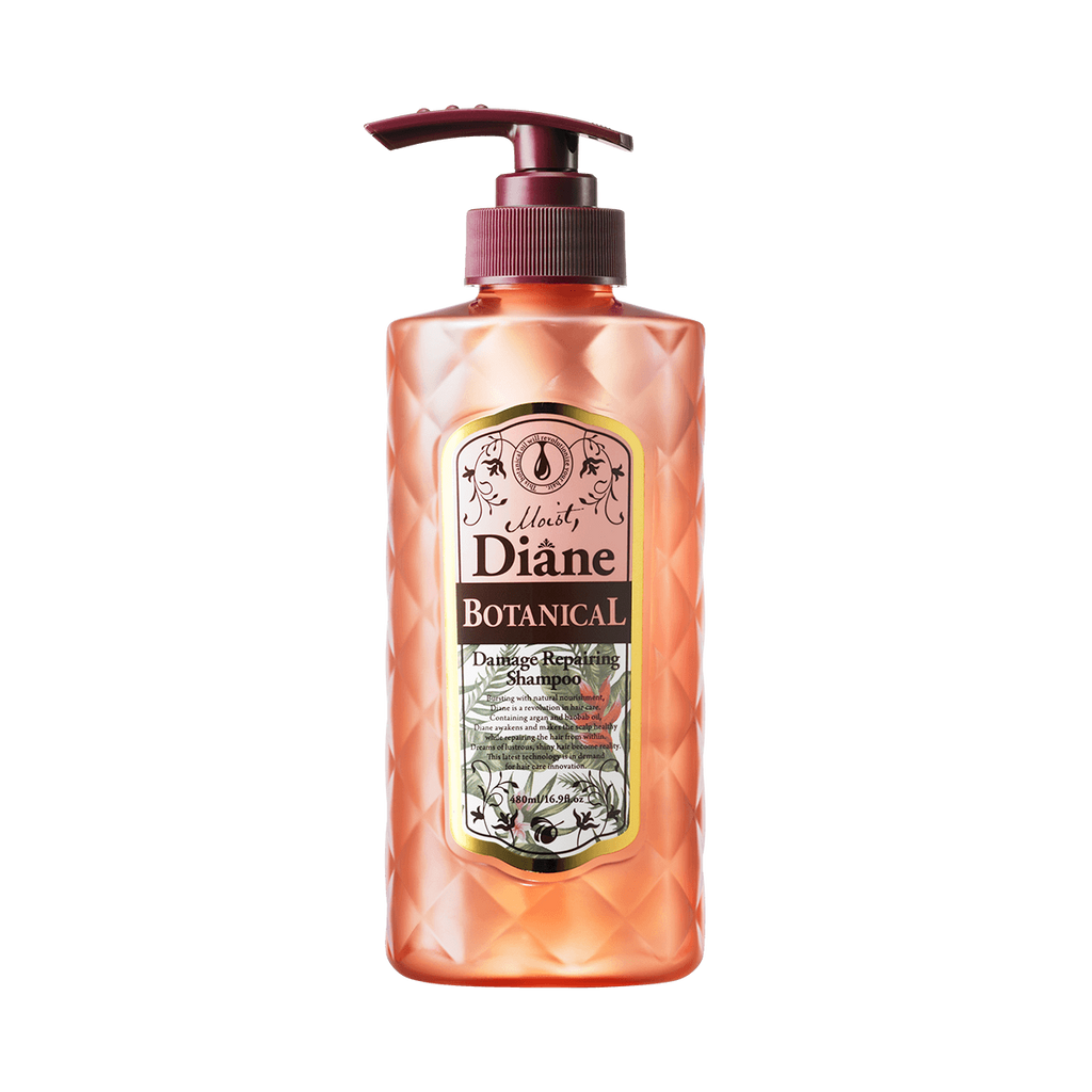 MOIST DIANE Botanical Damage Repairing Shampoo - TokTok Beauty