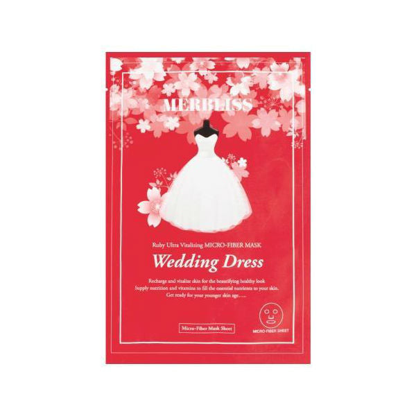 Wedding Dress Ruby Ultra Vitalizing Micro Fiber Mask - TokTok Beauty