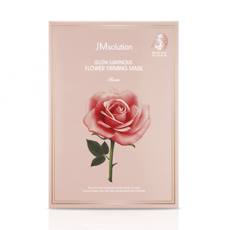 JM solution Glow Luminous Flower Firming Mask - 1 Box of 10 Sheets - TokTok Beauty
