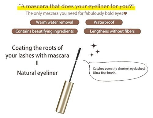 CANMAKE Lash Frame Mascara - Natural Black - TokTok Beauty