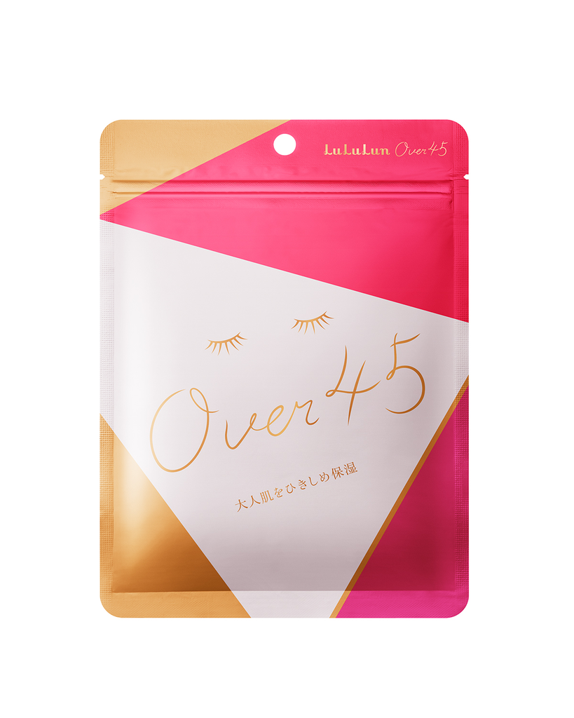 Facial Sheet Mask For Over 45 - CAMELIA PINK