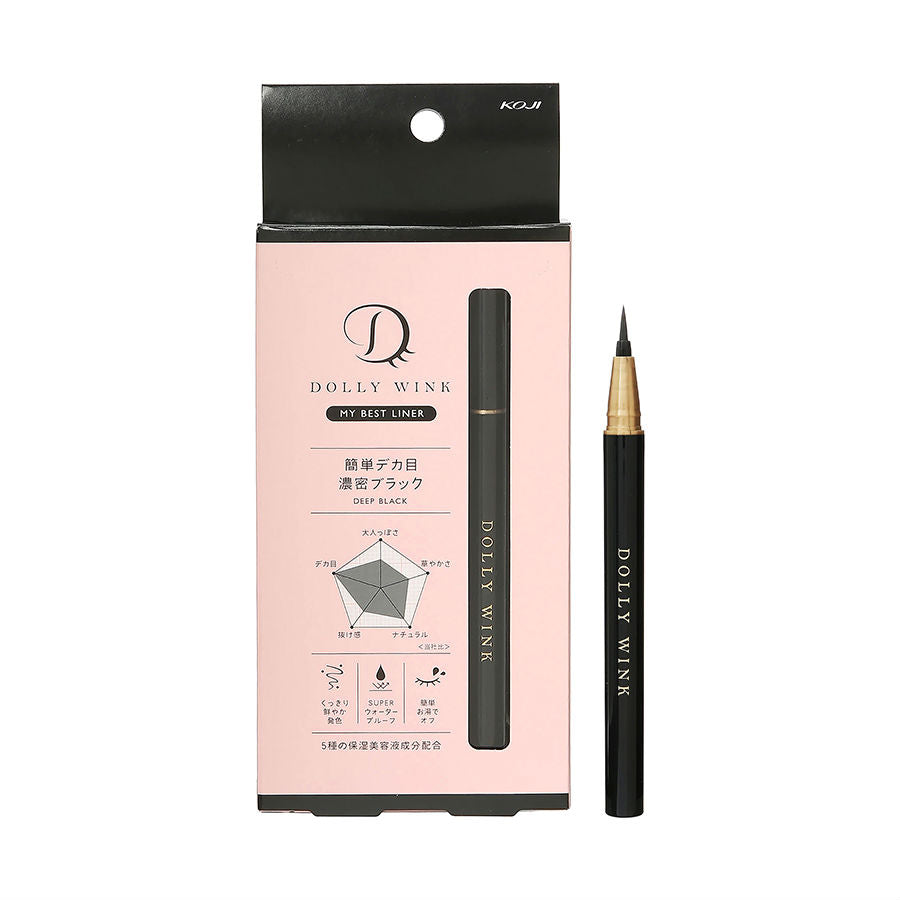 KOJI Dolly Wink My Best Liner - TokTok Beauty