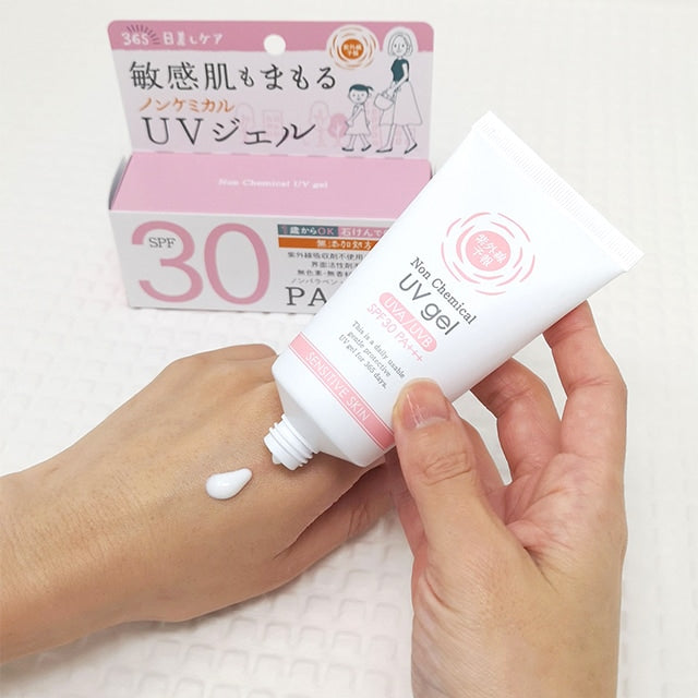 SHIGAISEN YOHOU Non-Chemical UV Gel SPF30 PA+++ - TokTok Beauty