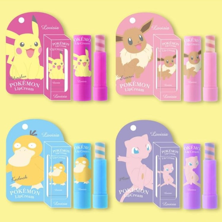 Pokémon Lip Cream - TokTok Beauty