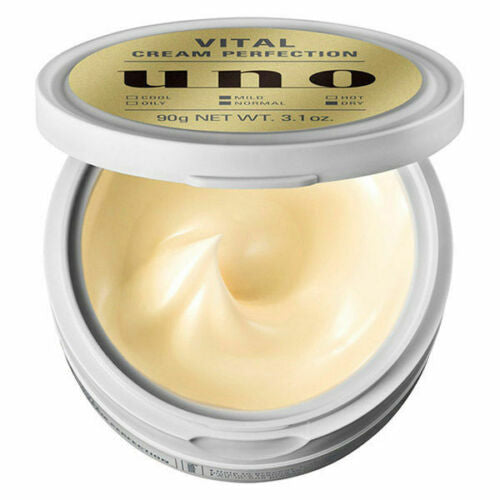 Shiseido UNO Men's Aging Care All-In-One Vital Cream Perfection - TokTok Beauty