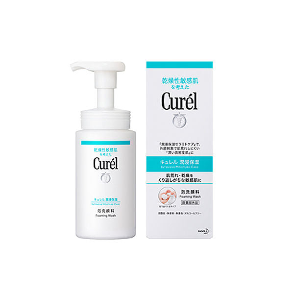 Curel Intensive Moisture Care Foaming Wash - TokTok Beauty