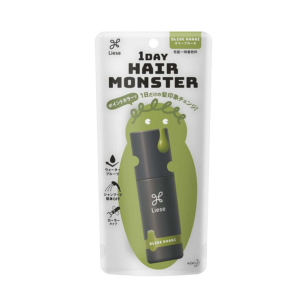 Kao Liese 1DAY Hair Monster Hair Color - TokTok Beauty