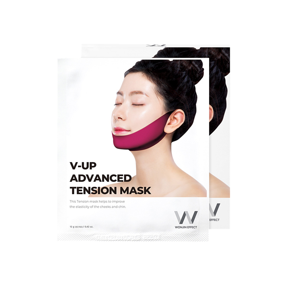 WONJIN V-UP Advanced Tension Mask - 1 Box of 5 Sheets - TokTok Beauty