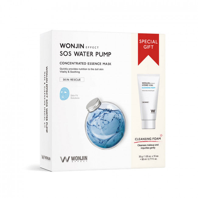 WONJIN SOS Water Pump Concentrated Essence Mask - Gift Set - TokTok Beauty