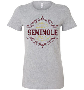 iheart FSU seminoles denim women's t-shirt