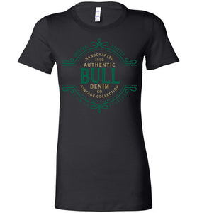 iheart USF bulls denim women's t-shirt