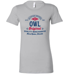 iheart FAU owls original women's t-shirt